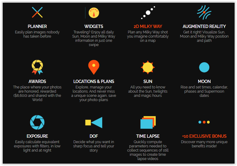 PhotoPills drone app