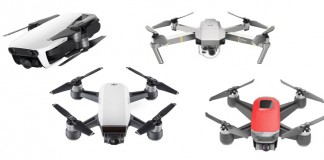 DJI Mavic Mini Vs. DJI Mavic Air Vs. DJI Spark